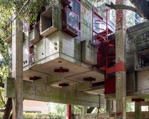 Casa sperimentale architectural ruins x x
