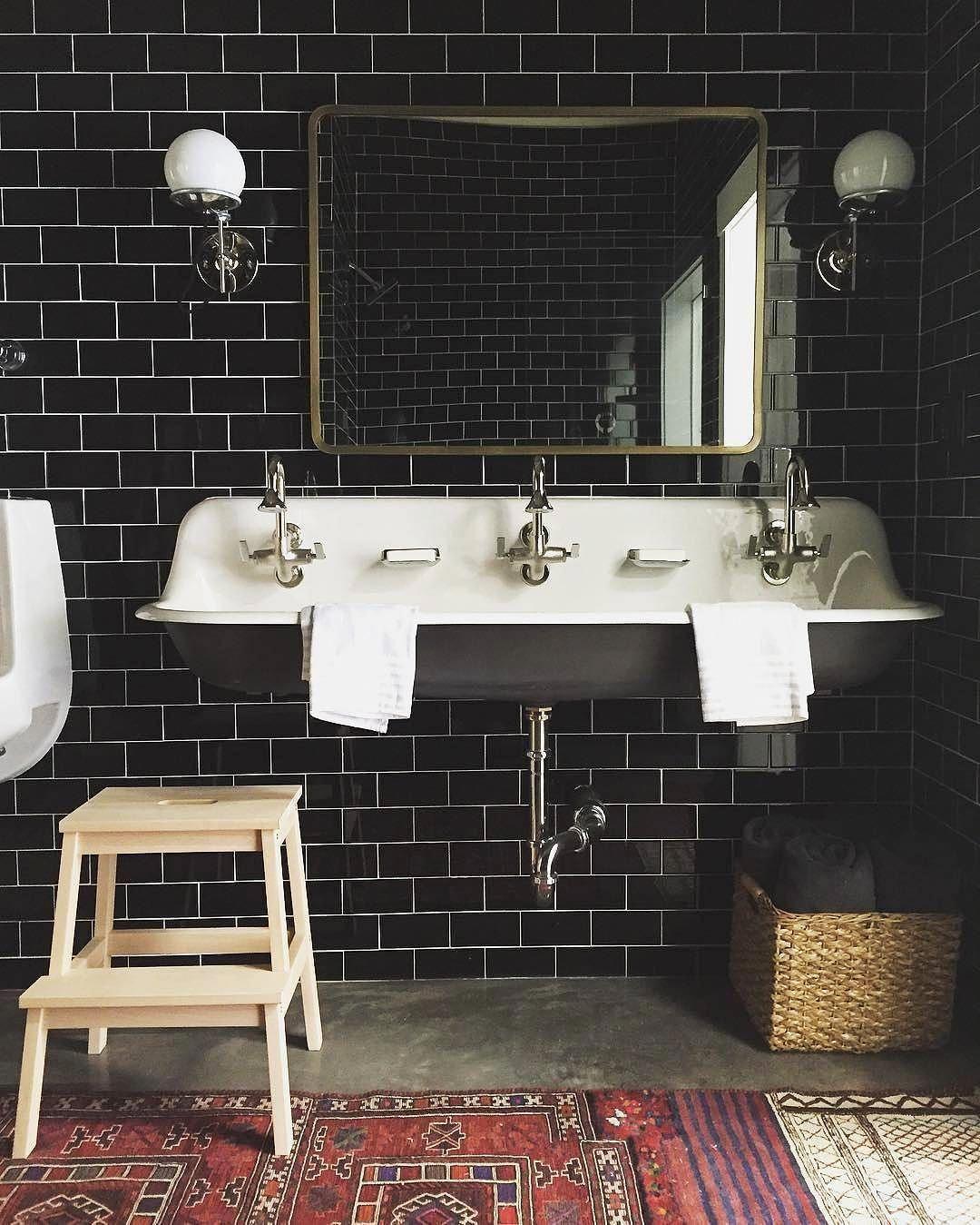 piastrelle in stile metropolitana bagno