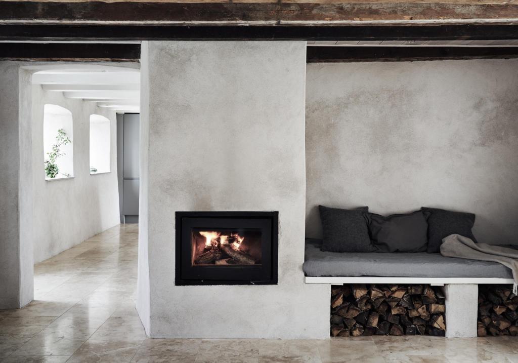 Fantastik franke interior design interni pavimenti travertino