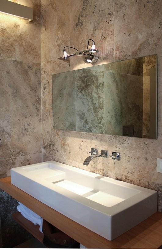 Piastrelle in marmo per bagno