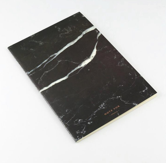 Marble notebook blocco note marmo idee regalo natale