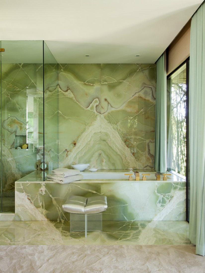 Idee bagno in marmo