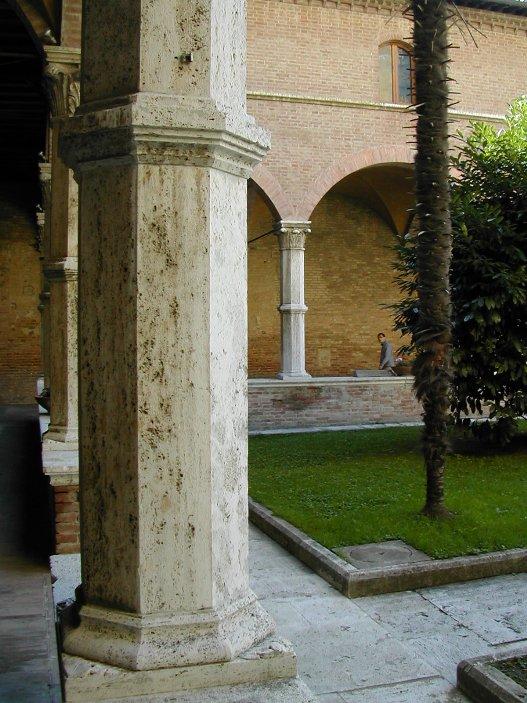 Pietra di rapolano siena architettura