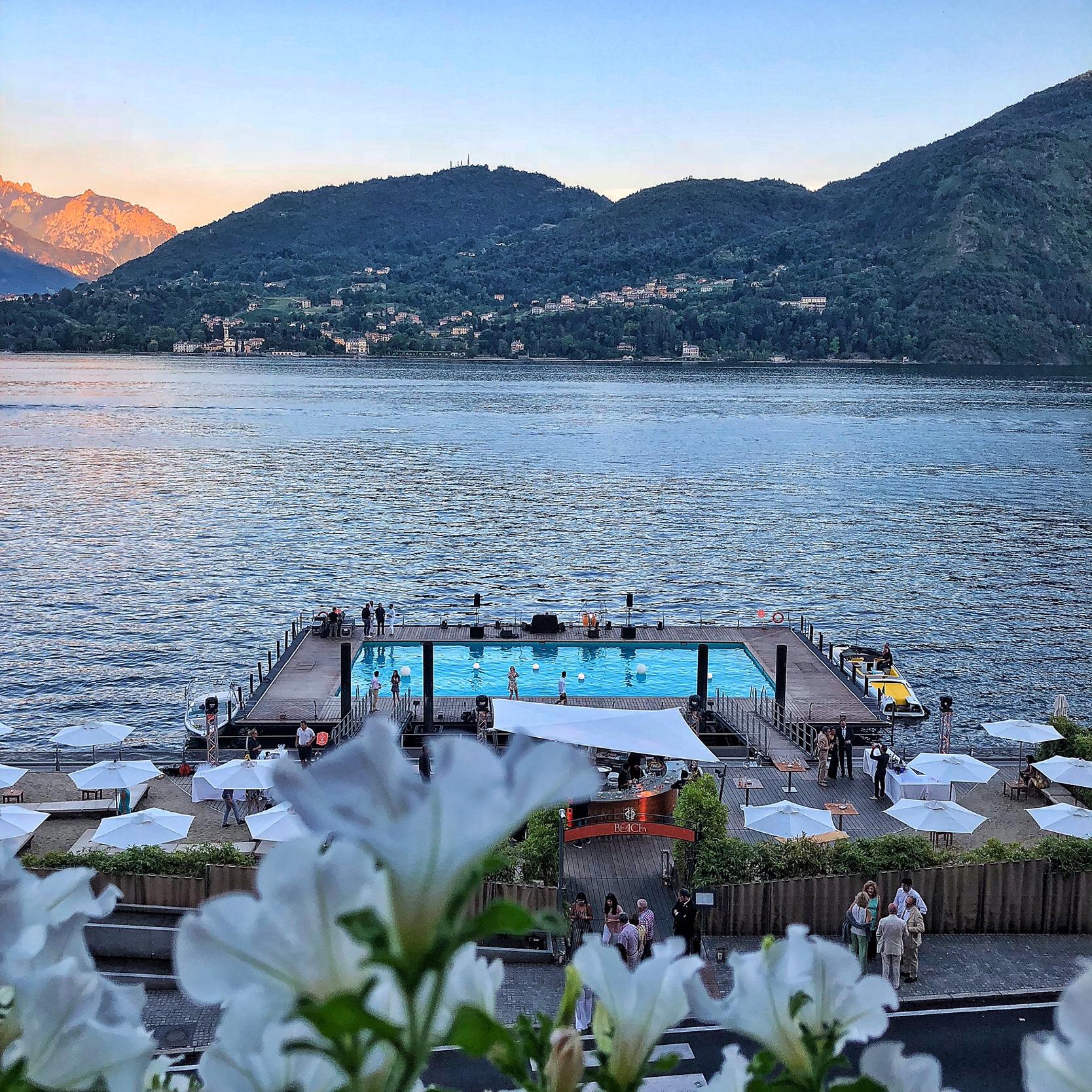 Grand hotel tremezzo piscina a sfioro